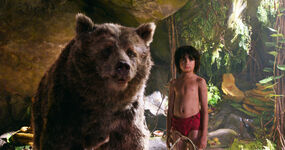 Mowgli and Baloo (Disney 2016)