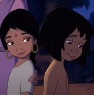 Mowgli and Shanti love each other