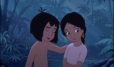 Mowgli and Shanti just heard something