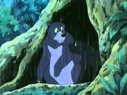 Baloo and Bagheera following Mowgli