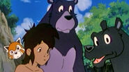 Mowgli, Kichi, Baloo and Bagheera