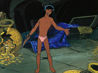 Mowgli as a Teenager