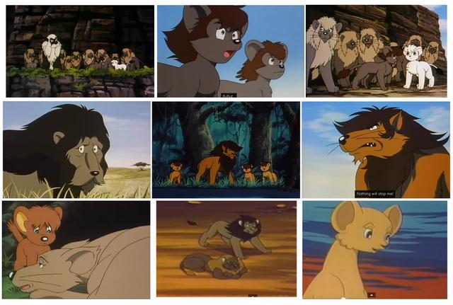 File:Random Kimba Characters.PNG