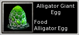 Alligator Egg quick short