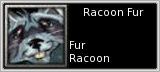 Racoon Fur quick short