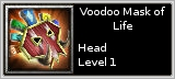 Voodoo Mask of Life quick short
