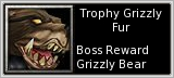 Trophy Grizzly Fur Shell quick short