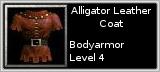 Alligator Leather Armor quick short