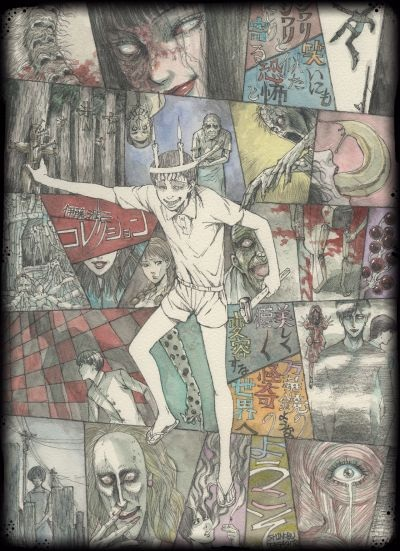 Junji ito collection poster