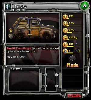 Bandito chassis