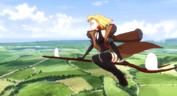 Maria flying