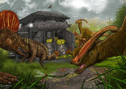 Jurassic park duck bills by pauloomarcio-d37yfdc