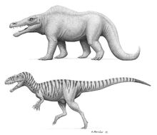 Megalosaurus past and present by brokenmachine86-d2ffgp6