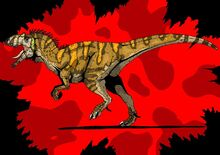 Jurassic park metriacanthosaurus updated 2015 by hellraptor-d1y2so7
