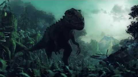 Tyrannosaurus rex - Walk cycle