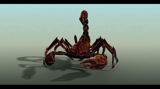 Scorpion - Walk cycle