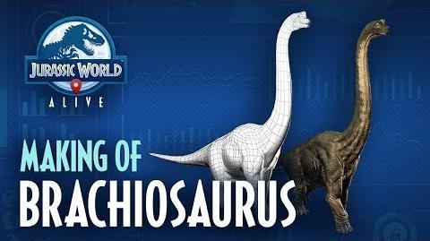 Jurassic World™ Alive Making Of Brachiosaurus