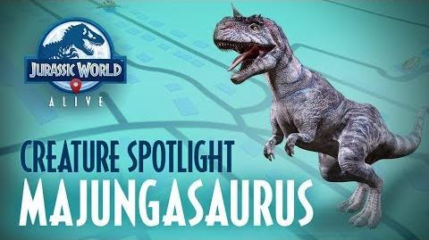 Creature Spotlight - Majungasaurus