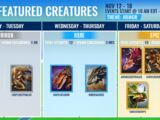 List of Featured Creatures Events