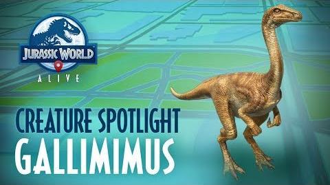 Creature Spotlight - Gallimimus