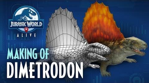 Jurassic World™ Alive Making Of Dimetrodon
