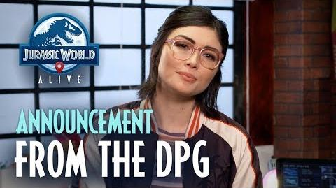 Jurassic World™ Alive DPG Announcement
