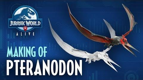 Jurassic World™ Alive Making Of Pteranodon