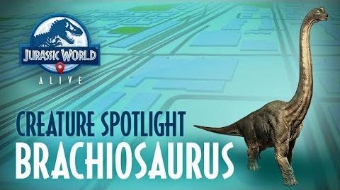 Creature Profile - Brachiosaurus