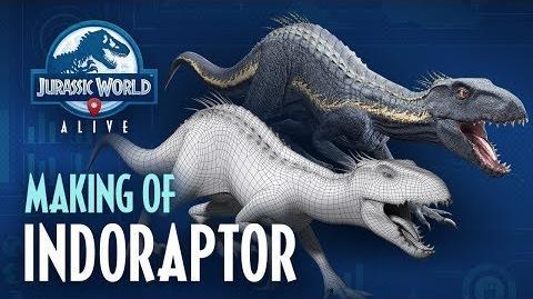 Jurassic World™ Alive Making Of Indoraptor
