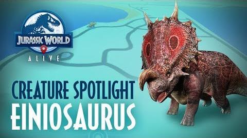Creature Spotlight - Einiosaurus
