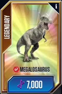 Megalosauruscard