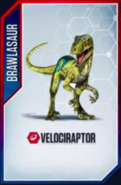 Velociraptor Brawlasaur 3