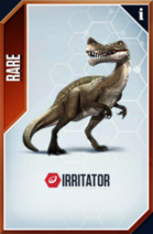 Irritator Card