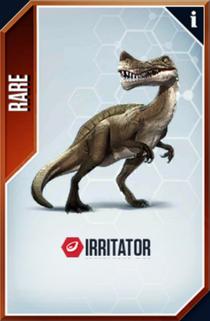 Irritator Card
