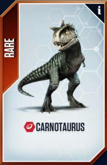 Carnotaurus Card