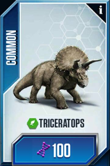 triceratops jurassic world the mobile game wikia fandom powered