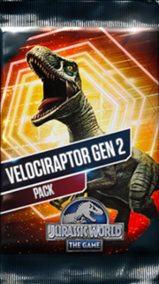 Velociraptor Gen 2 Pack