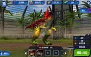 Allosaurus level 40