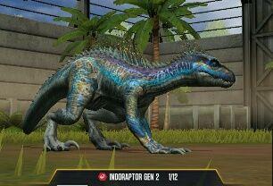 22+ Jurassic World The Game Indoraptor Gen 2 Level 40 PNG