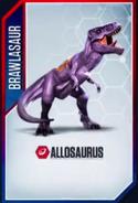 Allosaurbrawlasaur