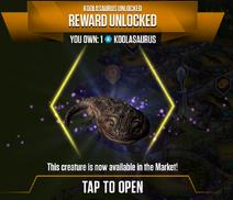 Koolasaurus Unlocked
