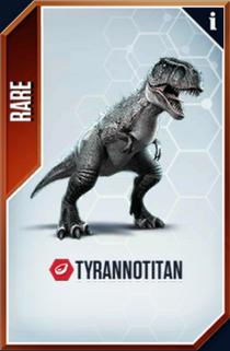 Tyrannotitan Card