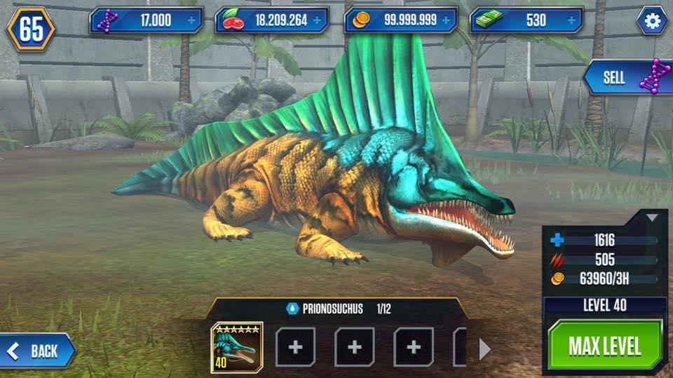 Prionosuchus Jurassic World The Mobile Game Wikia Fandom Powered