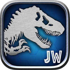 Image result for jurassic world game logo