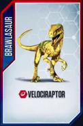 Velociraptor Brawlasaur 2
