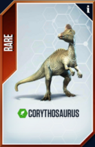 Corythosaurus Card