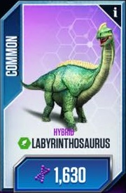 LabyrinthosaurusCard