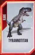 Tyrannotitan Old Card