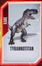 Tyrannotitan Old Card