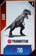 Tyrannotitancard